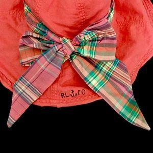 Ralph Lauren Accessories - EUC Ralph Lauren Rugby RARE Floppy Bow Hat